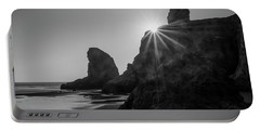 Last Light On The Coast Portable Battery Charger