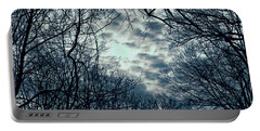 Portable Battery Charger featuring the photograph Last Light by Sandy Moulder