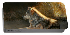 Last Light - Wolf Portable Battery Charger