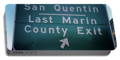 Last Marin County Exit Portable Battery Charger