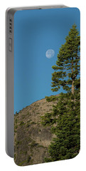 Last Moments Of A Full Moon Portable Battery Charger