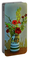 Last Of Summer Portable Battery Charger by Anne Kotan