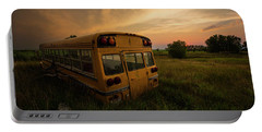Portable Battery Charger featuring the photograph Last Stop  by Aaron J Groen