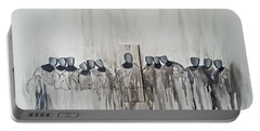 Last Supper Portable Battery Charger by Fei A