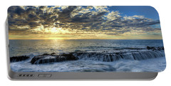 Late Afternoon In Laguna Beach Portable Battery Charger