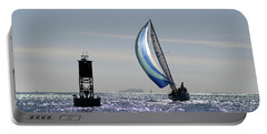 Late Afternoon Sail Portable Battery Charger