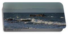 Late Afternoon Waves Portable Battery Charger