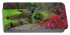 Late Fall At Mabry Mill Portable Battery Charger