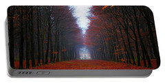 Late Fall Forest Portable Battery Charger