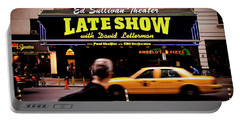 Late Show Portable Battery Charger