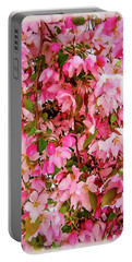Late Snow Early Flowers Portable Battery Charger