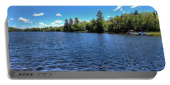 Late Spring On 6th Lake Portable Battery Charger