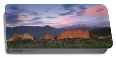 Late Spring Sunrise Portable Battery Charger by Tim Reaves