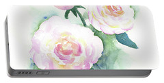 Late Summer Roses Portable Battery Charger