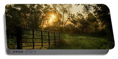 Late Summer Sunrise Portable Battery Charger