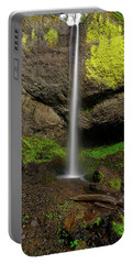 Portable Battery Charger featuring the photograph Latourell Falls by Jonathan Davison