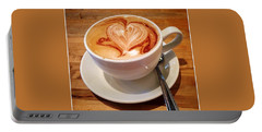Latte Love Portable Battery Charger