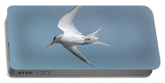 Laughing Gull In Flight Portable Battery Charger