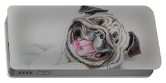 Laughing Pug Portable Battery Charger