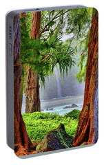 Portable Battery Charger featuring the photograph Laupahoehoe Hawaii by DJ Florek