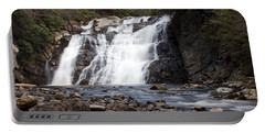 Portable Battery Charger featuring the photograph Laurel Falls In Spring #1 by Jeff Severson
