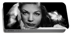 Lauren Bacall Publicity Photo Circa 1945-2015 Portable Battery Charger