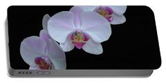 Lauritzen Gardens Orchids Portable Battery Charger