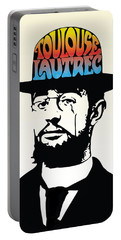 Lautrec Portable Battery Charger by Gary Grayson