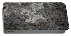 Portable Battery Charger featuring the photograph Lava Flow by M G Whittingham