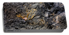Portable Battery Charger featuring the photograph Lava by M G Whittingham