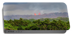 Lava Fountain Portable Battery Charger