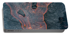Lava River Texture Portable Battery Charger