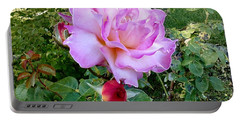 Portable Battery Charger featuring the photograph Lavendar Rose by Sadie Reneau