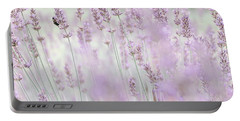 Portable Battery Charger featuring the photograph Lavender 6 by Andrea Anderegg