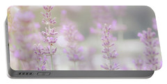 Portable Battery Charger featuring the photograph Lavender 7  by Andrea Anderegg