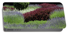 Lavender And Shrub Garden Portable Battery Charger
