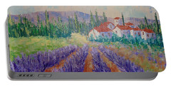 Lavender And Village Of Provence Portable Battery Charger
