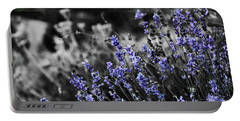 Lavender B And W Portable Battery Charger