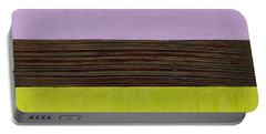 Lavender Brown Olive Portable Battery Charger