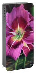 Lavender Daylily Portable Battery Charger