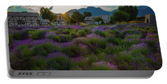 Lavender Delight Portable Battery Charger