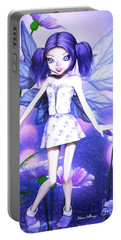 Lavender Fairy Portable Battery Charger
