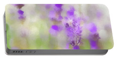 Lavender Fields Forever Portable Battery Charger