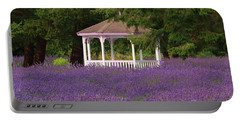 Lavender Gazebo Portable Battery Charger