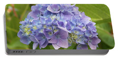 Lavender Hydrangea Portable Battery Charger