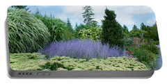 Lavender In The Middle Portable Battery Charger