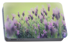 Portable Battery Charger featuring the photograph Lavender by Keith Hawley
