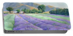 Lavender Lines Portable Battery Charger