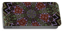 Lavender Mandala 1 Portable Battery Charger