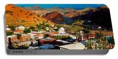 Lavender Pit In Historic Bisbee Arizona  Portable Battery Charger